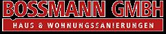 Bossmann GmbH Ingolstadt | Sanierung und Renovierung aus einer Hand Logo